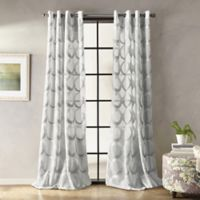 Peri Home Marni 63-Inch Grommet Sheer Window Panel in Grey