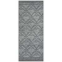 Maples™ Super Loop Damask 2' x 5' Area Rug in Grey