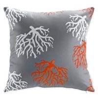 Modway Orchard Square Outdoor Throw Pillows in Grey/Multi (Set of 2)