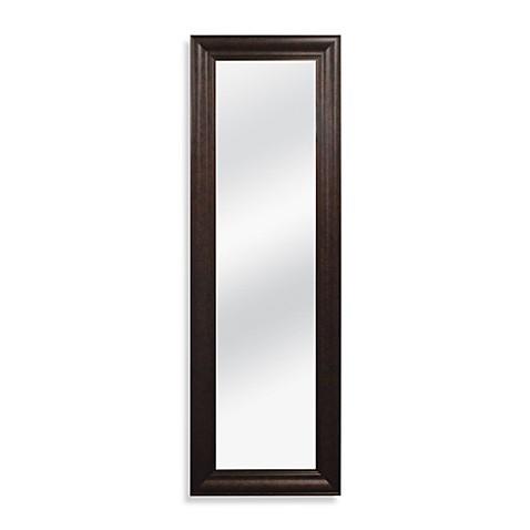 No Tools Over The Door Mirror In Bronze Bed Bath Beyond