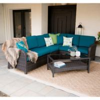 Leisure Made Jackson 5-Piece Outdoor Sectional in Peacock