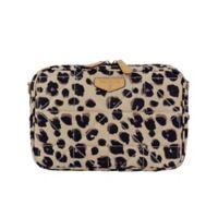TWELVElittle Leopard Diaper Clutch in Brown