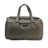 Ju-Ju-Be® Super Star Duffle Diaper Bag in Black/Olive