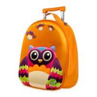 Oops 3D Owl Easy Trolley Backpack in Orange