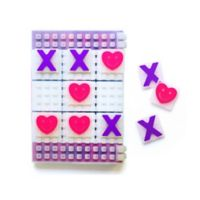 Little Miss Matched® 2-in-1 Jelly Snap Tic Tac Toe Gaming Notebook