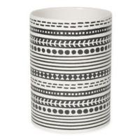 Now Designs™ Utensil Crock Tile in Black and White