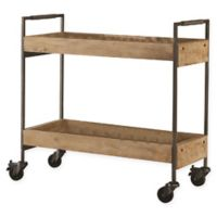 Frederick Industrial Sandblasted Serving Cart