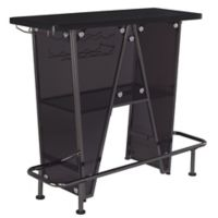 Sanders Contemporary Bar Unit in Dark Charcoal