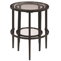 Gage Nesting Tables in Matte Black (Set of 2)