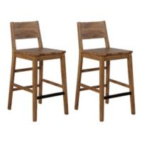 "Garrett 29"" Bar Stools in Natural (Set of 2)"