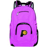 NBA Indiana Pacers 19-Inch Laptop Backpack in Pink