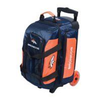 NFL Denver Broncos Double Roller Bowling Bag