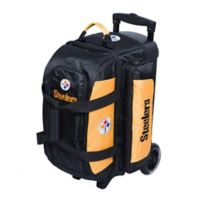 NFL Pittsburgh Steelers Double Roller Bowling Bag