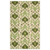 Siam 2-Foot 3-Inch x 7-Foot 6-Inch Runner in Ivory and Green