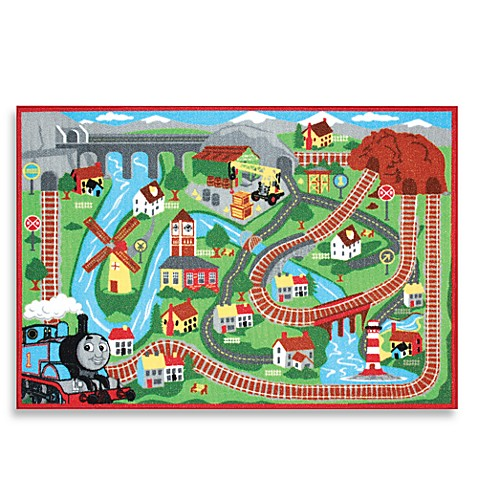 Thomas The Tank Engine Game Rug Bed Bath Amp Beyond