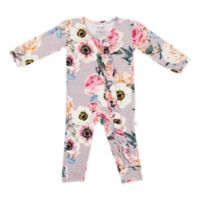 Posh Peanut Size 18-24M French Floral Romper in Grey
