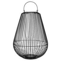 Blomus Nidea 2XL Steel Lantern in Black
