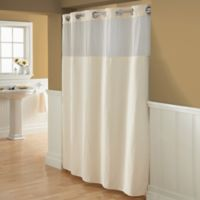 Hookless® Waffle 72-Inch x 98-Inch Fabric Shower Curtain in Cream