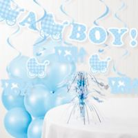 "Creative Converting™ ""It's A Boy"" Baby Shower Party Decorations Kit"