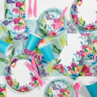 Creative Converting™ 81-Piece Painterly Floral Party Supplies Kit