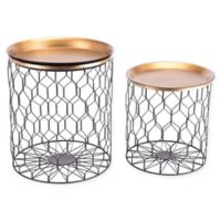 Zuo® Oriente Tray-Top Accent Tables (Set of 2)
