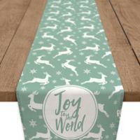 Joy Deer 90-Inch Table Runner in Green