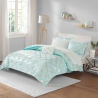 Intelligent Design Lorna 6-Piece Twin Comforter Set in Aqua