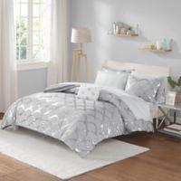 Intelligent Design Lorna 6-Piece Twin XL Comforter Set in Grey