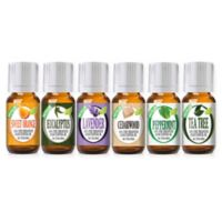 Healing Solutions Best 6-Piece Essential Oil Gift Set