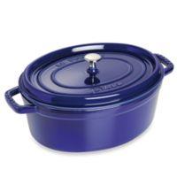 Staub 8.5-Quart Oval Cocotte in Dark Blue