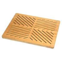 Oceanstar Design Bamboo Bath Mat in Natural