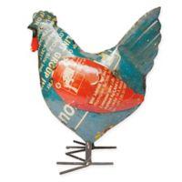 Crafted Happy Hen Outdoor Statue