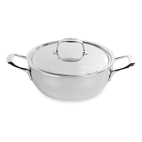 Demeyere 3.5-qt Simmering Pot in Stainless Steel