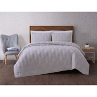 Brooklyn Loom Tender Twin XL Quilt Set in Grey