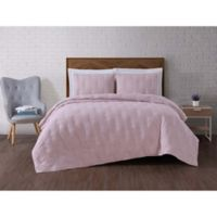 Brooklyn Loom Tender Twin XL Quilt Set in Pink