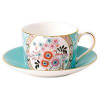 Wedgwood® Wonderlust Camellia Teacup and Saucer