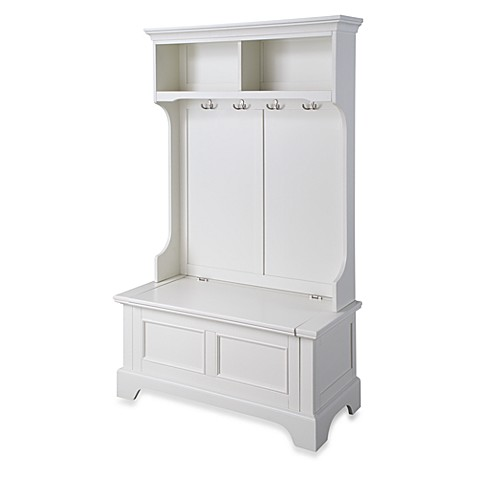 Home Styles Naples Hall Tree And Storage Bench Bed Bath