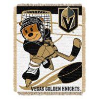 NHL Vegas Golden Knights Score Baby Woven Jacquard Throw Blanket