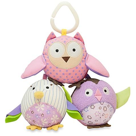 Skip Hop 174 Owl Patch Ball Trio Buybuy Baby