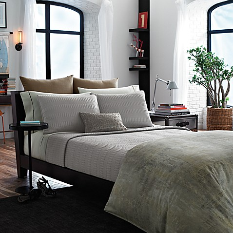 Kenneth Cole Reaction Home Mason Coverlet Bed Bath Beyond