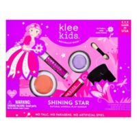 Klee Naturals 4-Piece Shining Star Makeup Kit