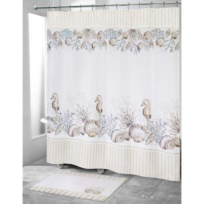 6ffd195cd8 Buy Seashell Shower Curtains | Bed Bath & Beyond