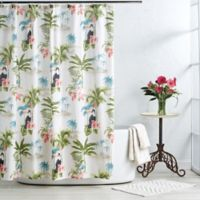 Toucan 72-Inch x 72-Inch Shower Curtain in Taupe