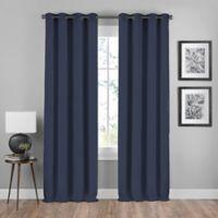 Shauna 108-Inch Grommet Window Curtain Panel in Indigo