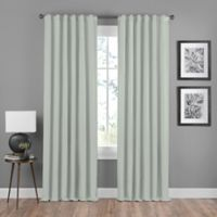 Shauna 63-Inch Rod Pocket/Back Tab Room Darkening Window Curtain Panel in Mist