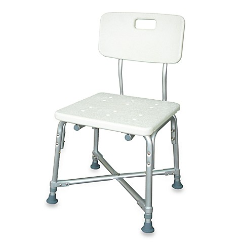 Drive Medical Heavy Duty Bariatric Bath Bench with Back