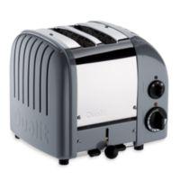 Dualit® 2-Slice NewGen Classic Toaster in Grey