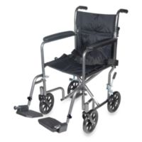 Drive Medical Steel 19-Inch Transport Chair