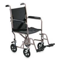 Drive Medical Steel 17-Inch Transport Chair
