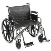 Drive Medical Sentra EC Heavy-Duty 24-Inch Wheelchair